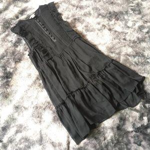 H&M Ruffle Chiffon Mini Dress
